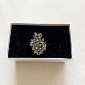 Guess Floral Ring